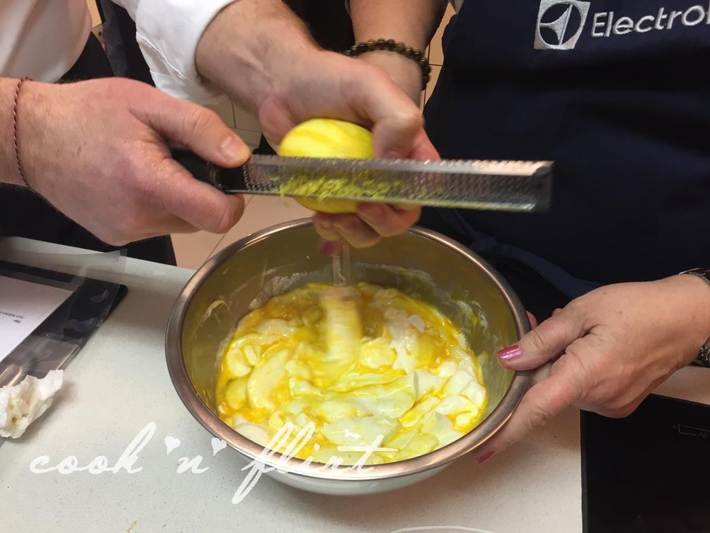 Cook 'n' Flirt wird geliked, Zitronen Zesten
